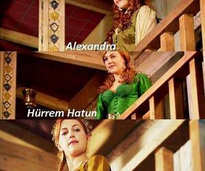 alexandra, beuaty, and hurrem sultan image