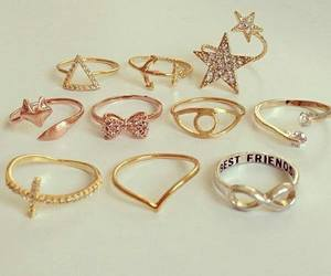 rings, stars, and accessories image