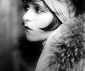 clara bow and vintage image
