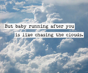 clouds, Lyrics, and quote image