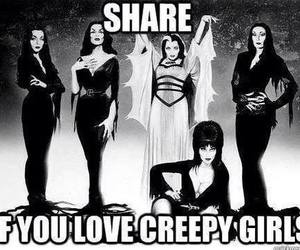 elvira, morticia, and lily image