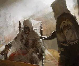 assassin's creed, altair, and ezio auditore image