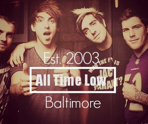 all time low and baltimore image