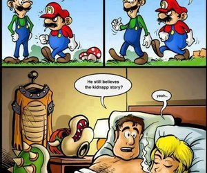 mario, funny, and luigi image