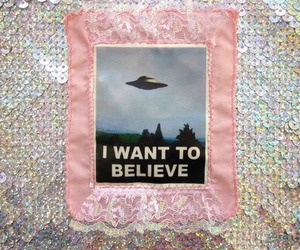 alien, believe, and grunge image