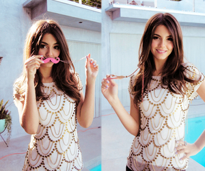 victoria justice, beautiful, and brunette image