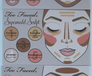 beauty, Foundation, and makeover image