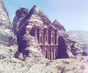 ancient, mountain, and ruins image