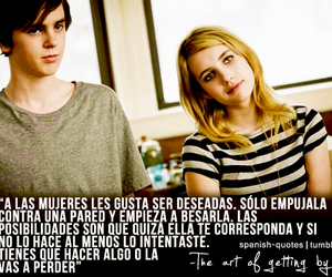 the art of getting by, love, and emma roberts image