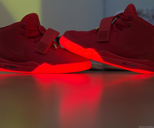 red, shoes, and sneakers image