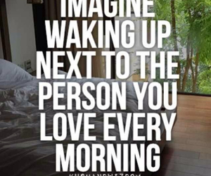 love, imagine, and morning image