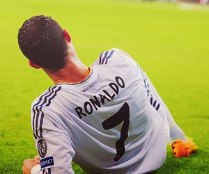 handsome, real madrid, and Ronaldo image