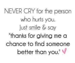quote, cry, and hurt image
