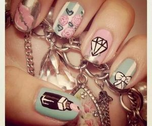 beauty, nails, and post image