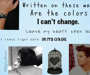 story of my life, louis tomlinson, and larry image