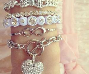 bracelets, fashion, and style image