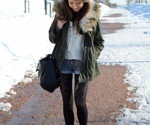 fashion, girl, and M image