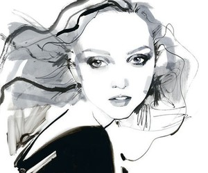 art, fashion, and Lily Cole image