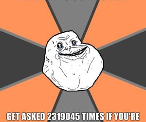 forever alone, relative, and quote image