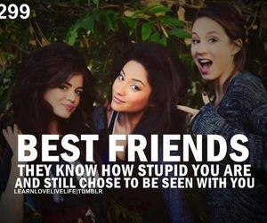 best friends, friends, and pretty little liars image