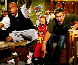 lucas scott, chad michael murray, and one tree hill image