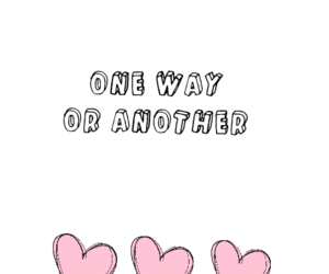 background, 1d, and one way or another image
