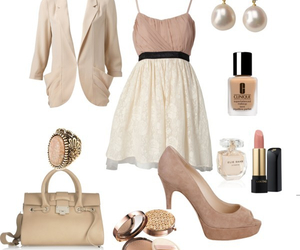 beige, brown, and clothes image