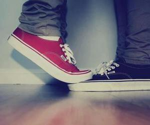 just friends, kiss, and vans image