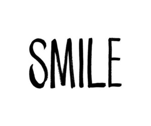quote, smile, and text image