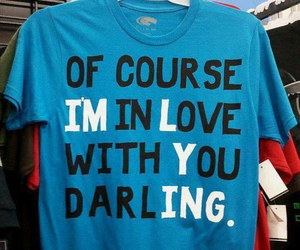 love, darling, and lying image