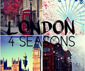 4 seasons, autumn, and london image