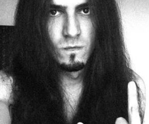 guy, heavy metal, and long hair image