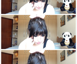 bangs, dolly, and pale image