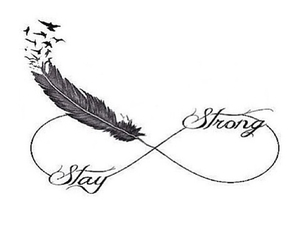be strong. image