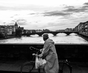 bike, florence, and italy image