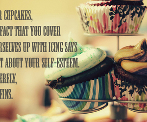 cupcakes, quote, and text image