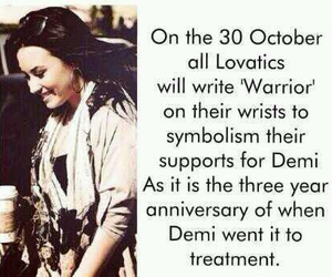 demi, demi lovato, and warrior image
