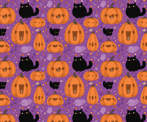 cat, ghost, and spoopy image
