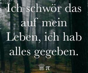 depression, german, and Lyrics image