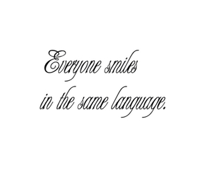 quote, smile, and language image