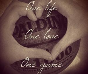 love, Basketball, and game image