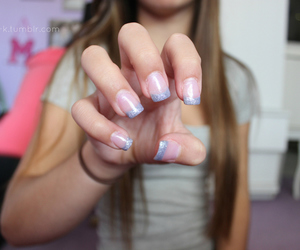 nails, tumblr, and pretty image