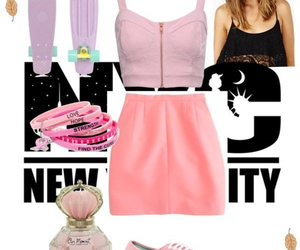 fashion, penny, and Polyvore image