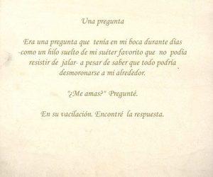 me amas? and vacilación image