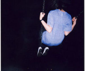 grunge, dark, and swing image