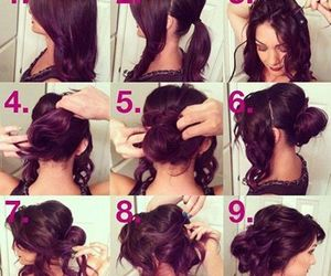 dyi, Easy, and hair image