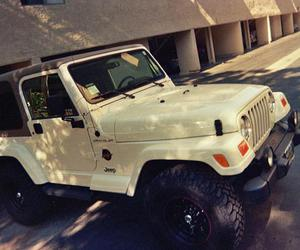 awesome, white, and jeep wrangler image