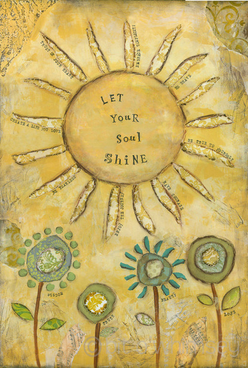 Let your soul shine discovered by @littleenchantedmermaid