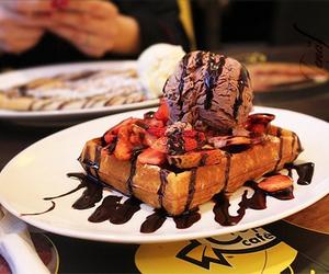 chocolate, delicious, and icecream image