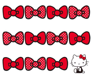 hello kitty, red, and background image